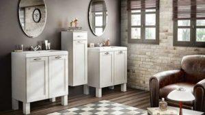 Les matériaux présents dans les salles de bains