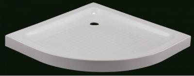 Receveurs de douche acryliques semi-circulaires