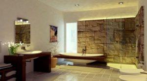 Salle de bains inspirée de l'environnement