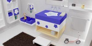 Salles de bain d'enfant