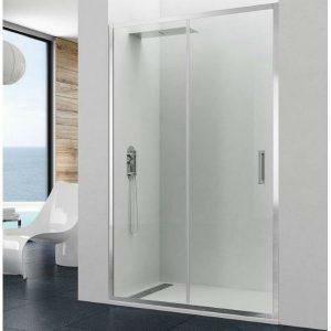 Parois de douche avec portes coulissantes